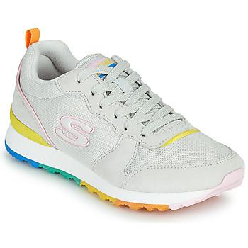 Sapatos Mulher Sapatilhas Skechers OG 85 Branco / Amarelo