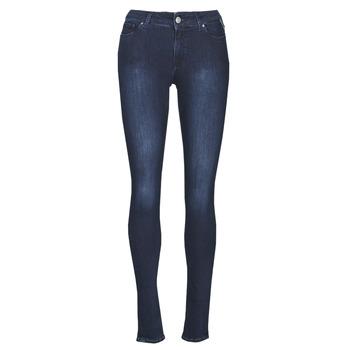 Textil Mulher Gangas Skinny Replay NEW LUZ Azul / Escuro
