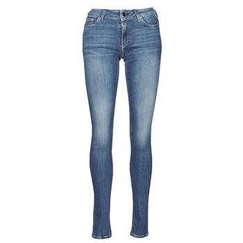 Textil Mulher Gangas Skinny Replay NEW LUZ Azul