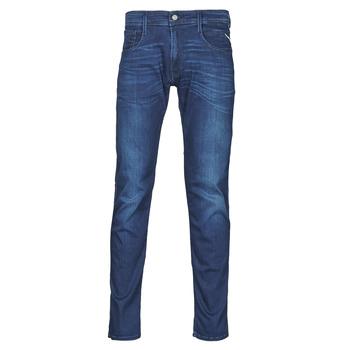 Textil Homem Calças de ganga slim Replay ANBASS Pants Azul