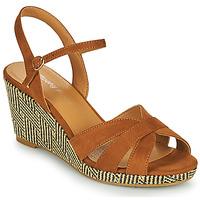 Sapatos Mulher Sandálias Moony Mood MALIA Camel