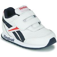 Sapatos Criança Sapatilhas Reebok Classic REEBOK ROYAL CLJOG 2 KC Branco / Marinho / Vermelho