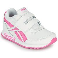 Sapatos Rapariga Sapatilhas Reebok Classic REEBOK ROYAL CLJOG 2 KC Branco / Rosa