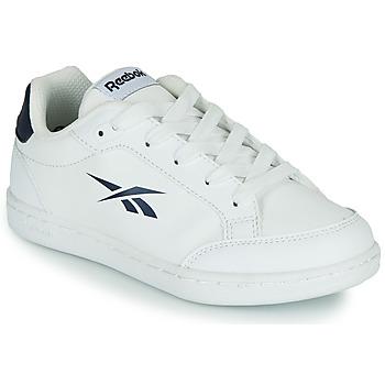 Sapatos Criança Sapatilhas Reebok Classic REEBOK ROYAL VECTOR SMASH Branco / Azul