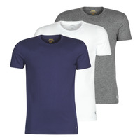 Textil Homem T-Shirt mangas curtas Polo Ralph Lauren SS CREW NECK X3 Marinho / Cinza / Branco