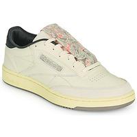 Sapatos Homem Sapatilhas Reebok Classic CLUB C 85 Bege / Preto