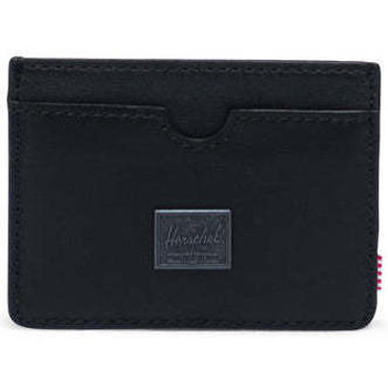 Malas Carteira Herschel Charlie Leather RFID Black