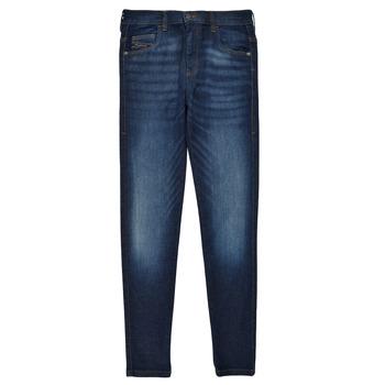 Textil Rapariga Gangas Skinny Diesel D-SLANDY HIGH Azul