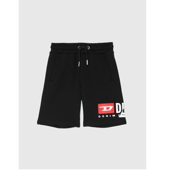 Textil Rapaz Shorts / Bermudas Diesel PSHORTCUTY Preto