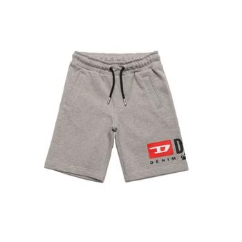 Textil Rapaz Shorts / Bermudas Diesel PSHORTCUTY Cinza