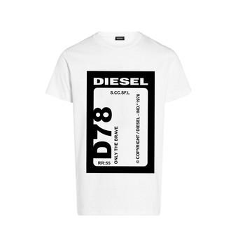 Textil Rapaz T-Shirt mangas curtas Diesel TFULL78 Branco