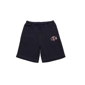 Textil Rapaz Shorts / Bermudas Diesel PEDDY Azul