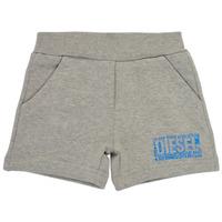 Textil Rapaz Shorts / Bermudas Diesel POSTYB Cinza