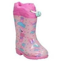 Sapatos Rapariga Botas de borracha Cerda BOTAS DE AGUA  4449 PEPA PIG  NIÑA ROSA Rose