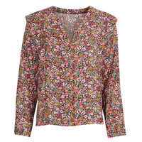 Textil Mulher Tops / Blusas Betty London NONO Rosa / Multicolor
