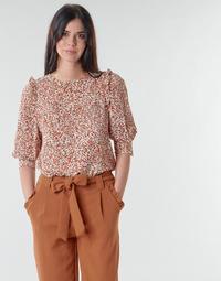 Textil Mulher Tops / Blusas Betty London NIUTON Bege