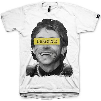 Textil Homem T-shirts e Pólos Leg3Nd THEDOCTOR Blanco