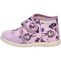 Sapatos Rapaz Sapatilhas de cano-alto Ciciban - Pantofola lilla 60450 JULIA LILLA