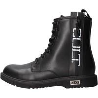 Sapatos Rapaz Sapatilhas Cult - Anfibio nero ZIPPER NERO