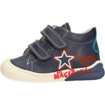 Sapatos Rapaz Sapatilhas de cano-alto Naturino - Polacchino blu CICO VL-2C05 BLU