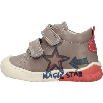 Sapatos Rapaz Sapatilhas de cano-alto Naturino - Polacchino grigio CICO VL-1B76 GRIGIO