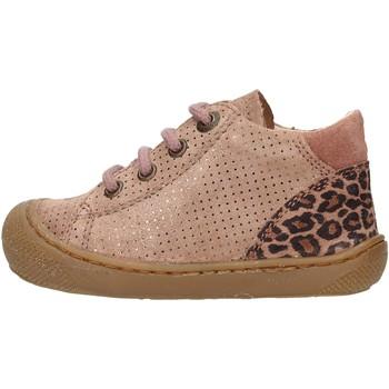Sapatos Rapaz Sapatilhas de cano-alto Naturino - Polacchino rosa  antico ROMY-1M60 ROSA