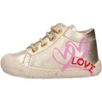 Sapatos Rapaz Sapatilhas de cano-alto Naturino - Polacchino platino KOLBY-0Q06 PLATINO
