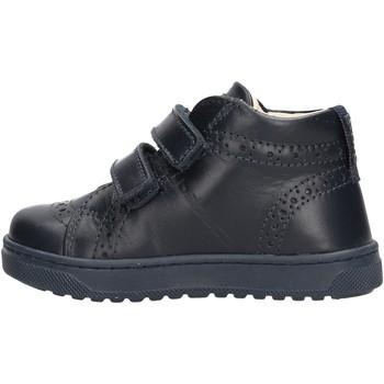 Sapatos Rapaz Sapatilhas de cano-alto Balducci - Polacchino blu CSP4100 BLU