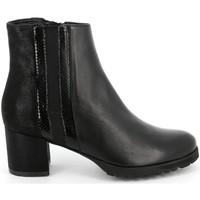 Sapatos Mulher Botins Grunland - Polacchino nero PO1568 NERO