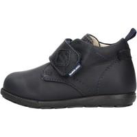 Sapatos Rapaz Sapatilhas de cano-alto Balducci - Polacchino blu CITA 4250 BLU