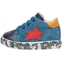 Sapatos Rapaz Sapatilhas Falcotto - Polacchino blu SASHA-2C05 BLU