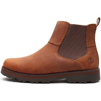 Sapatos Rapaz Botas baixas Timberland - Beatles marrone 0A28QW MARRONE
