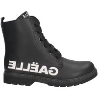 Sapatos Rapaz Sapatilhas GaËlle Paris - Anfibio nero G-452A NERO