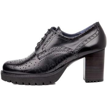 Sapatos Mulher Sapatos CallagHan - Derby nero 21918 NERO