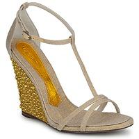 Sapatos Mulher Sandálias Magrit JOAQUINA Bege / Dourado