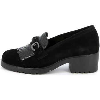 Sapatos Mulher Mocassins Grunland - Mocassino nero SC2967 NERO