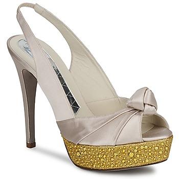 Sapatos Mulher Sandálias Magrit IMPERIALI Branco / Dourado