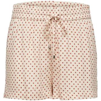Textil Mulher Shorts / Bermudas Jacqueline De Yong  Laranja