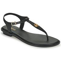 Sapatos Mulher Sandálias MICHAEL Michael Kors MALLORY THONG Preto