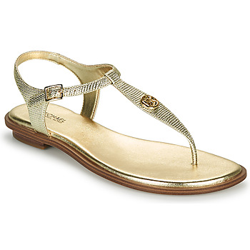 Sapatos Mulher Sandálias MICHAEL Michael Kors MALLORY THONG Ouro