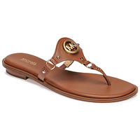 Sapatos Mulher Chinelos MICHAEL Michael Kors CONWAY SANDAL Conhaque