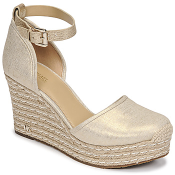 Sapatos Mulher Sandálias MICHAEL Michael Kors KENDRICK WEDGE Ouro