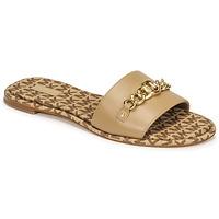 Sapatos Mulher Chinelos MICHAEL Michael Kors RINA SLIDE Camel