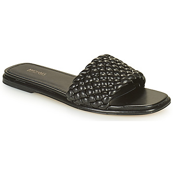 Sapatos Mulher Chinelos MICHAEL Michael Kors AMELIA FLAT SANDAL Preto