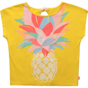 Textil Rapariga T-Shirt mangas curtas Billieblush U15873-548 Amarelo