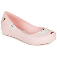 Sapatos Rapariga Sandálias Melissa MEL ULTRAGIRL SWEET DREAMS Rosa / Branco