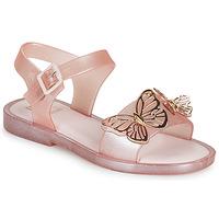 Sapatos Rapariga Sandálias Melissa MEL MAR SANDAL FLY Rosa / Dourado