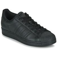 Sapatos Sapatilhas adidas Originals SUPERSTAR Preto