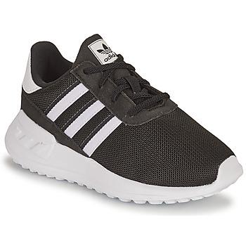 Sapatos Criança Sapatilhas adidas Originals LA TRAINER LITE EL I Preto / Branco
