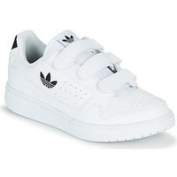 Sapatos Criança Sapatilhas adidas Originals NY 92  CF C Branco / Preto